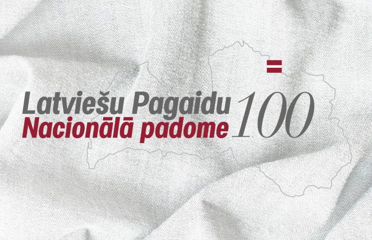 Latviešu Pagaidu Nacionālajai padomei 100