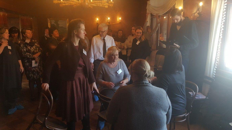 Kopienu teātra apmācība Rīgā